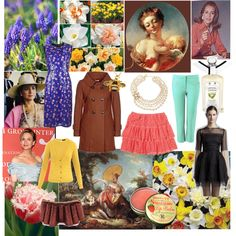 """Zyla Floral Spring """"The Wholesome Flirt"""" by thewildpapillon, via Polyvore"""