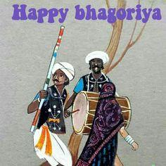 Happy Bhagoriya... a tribal festv
