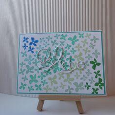 loewchenzimmer: Karte mit dem Sale-a-Bration Stempelset Blumen für dich von Stampin Up