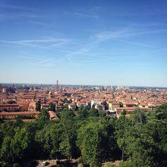 Bologna è ogni giorno una sorpresa #panorama #bologna #view