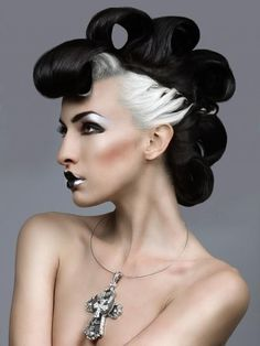 Creative hair & makeup