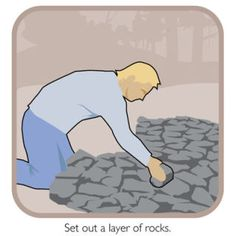 How to Build a Fire Bed  Laying a Good Foundation The first step is to create a bed of rocks that will be long enough to accommodate your size when you are normally sleeping. Medium to large...