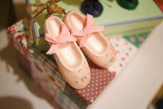 Ballet Shoes from a Nutcracker Inspired Birthday Party via Kara's Party Ideas | KarasPartyIdeas.com (23)