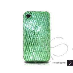 Classic Bling Swarovski Crystal iPhone 5 Case - Green