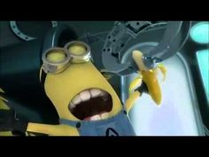 """""""Banana"""" featurette with the Minions from 'Despicable Me.'  This is the highest quality video I could find (the text is backwards to avoid flagging copyright filters)."""