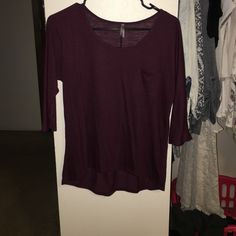 3/4 sleeve Great condition, pocket basics shirt Vanity Tops Tees - Short Sleeve