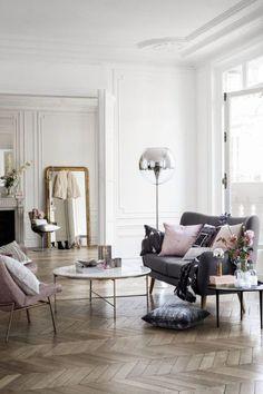 feminine style / living room inspiration