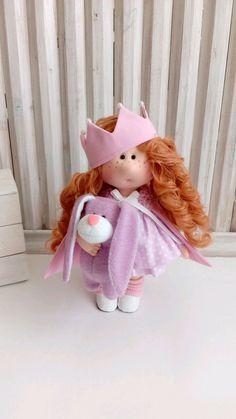 Текстильная куколка. Капризная принцесса – купить в интернет-магазине на Ярмарке Мастеров с доставкой - F883LRU