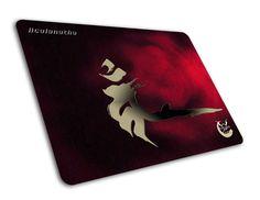 Amazon.com: eZova Acalanatha High-Sensitivity Gaming Mousepad, Size M (260 x 185 x 4mm) - RED: Electronics