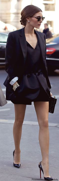 Street Style | Olivia Palermo Check out Dieting Digest