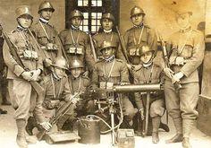 Italian soldiers, post WWI
