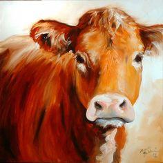 Art 'COW' - by Marcia Baldwin from Western Art by M Baldwin