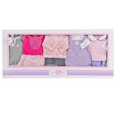 Amazon.com: You & Me 12-15 inch 5-in-1 Doll Fashions: Toys & Games