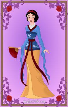 Mulan Geisha | Geisha Snow White by YueYuu