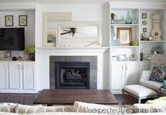 Image result for built in electric fireplace and tv design