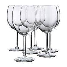 Glassware & pitchers - Glasses & Wine glasses - IKEA 6 for 4.95