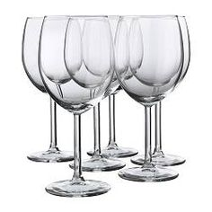 IKEA - SVALKA, Red wine glass, The glass has a large bowl which helps the wine's aromas and flavours to develop better, enhancing your experience of the drink.