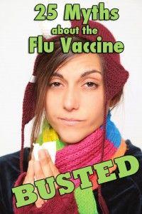 Mitos de la vacuna de Influenza.