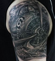 50 Airplane Tattoos For Men