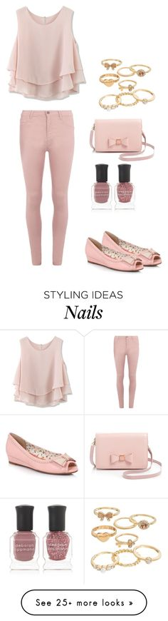 """""""Untitled #183"""" by sweet-strawberry-fairy on Polyvore featuring Ellie, Chicwish, Mudd, Ted Baker, Dorothy Perkins and Deborah Lippmann"""