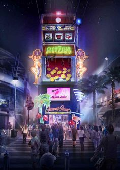 Here come SlotZilla! Fremont Street Experience Reveals Plans for SlotZilla, a New Attraction to Change Downtown Las Vegas Las Vegas Attractions, Las Vegas Resorts, Las Vegas Sign, Las Vegas Trip, Vegas Fun, Vegas Vacation, Vacation Ideas, Nevada, Vegas Showgirl