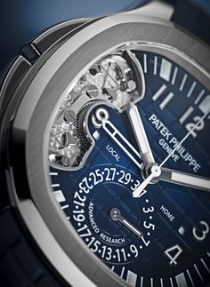 Patek Philippe Advanced Research Aquanaut Travel Time 5650G Watch