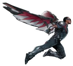 Extendable wing type design used in the Avengers. Something similar to this would be an eventual goal, however component wise is quite complicated.