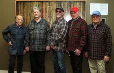 The reunited Beach Boys. L-R: Al Jardine, Brian Wilson, David Marks, Mike Love, Bruce Johnston (Photo: Rebecca Sapp)