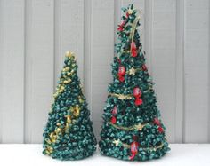 Beading Pattern Christmas Tree Tutorial by FlorenHandicrafts