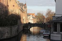 "http://townske.com/Ask4mo instagram: @ask4mo ""love On A Bridge"" Brugge, Bruges, Belgium http://townske.com/guide/18295/love-on-a-bridge"