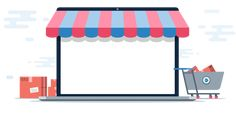 Online stores have given a great business opportunity to people who have very little or no investment at all. The amazing nature of eCommerce business allows you to start your own business by only opening an eCommerce website. Wallpaper Art, Wallpaper Backgrounds, Supermarket Logo, Ecommerce Solutions, Info Graphics, Starting Your Own Business, Dubai, Investing, Presentation