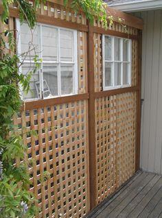 lattice framed rona - Google Search