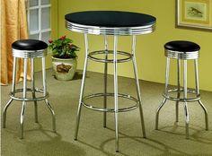 50's Soda Fountain in Retro Chrome 3 Piece Counter Height Bar Table Set - Coaster Co. by Coaster Home Furnishings, http://www.amazon.com/dp/B003XRFKNE/ref=cm_sw_r_pi_dp_DAucqb00YF50H