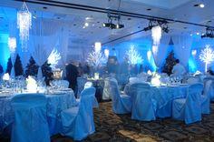 Beautiful winter wedding decor- Scottsdale Resort - Scottsdale, AZ