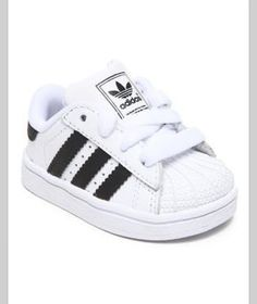 I love this Adidas Superstar 2 Sneakers Inf on DrJays. Take a look and get off your next order! Cute Baby Shoes, Baby Boy Shoes, Cute Baby Clothes, Boys Shoes, Toddler Boy Shoes, Infant Boy Shoes, Baby Boots, Toddler Girls, Women's Shoes