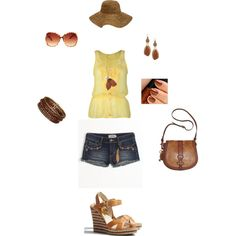 Yellow, Summer outfit