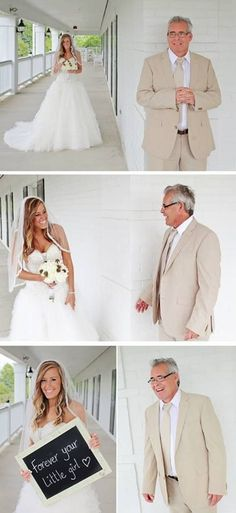 father daughter first look wedding | ... Father/daughter first look! Julian Allen Photography. Bowen wedding