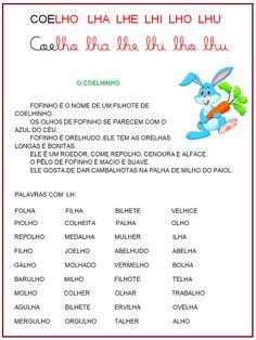 SC COELHO Curriculum, Homeschool, Portuguese Lessons, A30, Professor, Writing, Education, Reading, Image