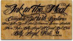 10 free tattoo fonts for designers | Typography | Creative Bloq | http://www.creativebloq.com/typography/free-tattoo-fonts-designers-12121431#