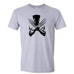 Cool Wolverine X-Men shirt Tshirt Marvel Superhero Gift Idea Tee Shirt Unisex Sizes S M L XL XXL 3XL 14 Color Choices Available on Etsy, $13.99