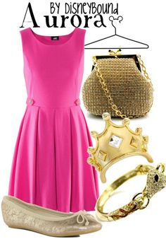 "Disney Princess Sleeping Beauty ""Aurora""-inspired outfit. 