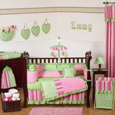Olivia Bedding by JoJo Designs - Olivia Baby Crib Bedding Collection - olivia-9