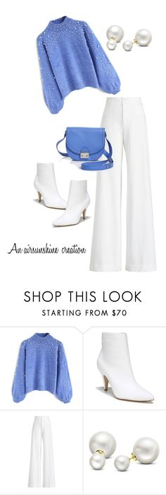 """""""Untitled #1559"""" by airsunshine on Polyvore featuring Chicwish, Carlos by Carlos Santana, Ralph Lauren Collection, Allurez and Loeffler Randall"""