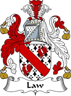 english law crest | ... - The Law Coat of Arms (Family Crest) and Surname History