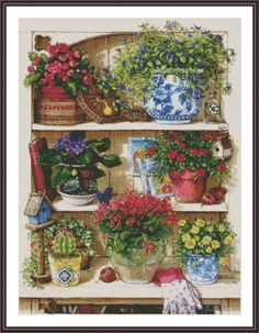Counted Cross Stitch Pattern Still Life by ZAnnaCrossStitch