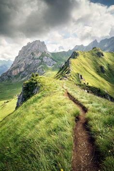 ~~Sentiero Pederiva | Ciampac plateau and the Colca summit, on the right down towards Val San Nicolo, Possa di Fassa, Trentino-Alto Adige, Italy | by Youronas~~