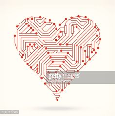 View top-quality illustrations of Circuit Board Hearts Symbol. Circuit Board Tattoo, Lion Art, Pattern Designs, Free Illustrations, Cupid, User Interface, Art And Architecture, Drawing Reference, Wands