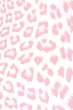 Pink Leopard Print iPhone Wallpaper