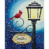 christmas paintings Social Artworking C - Canvas Painting Designs, Easy Canvas Painting, Winter Painting, Acrylic Canvas, Diy Painting, Canvas Art, Winter Art, Canvas Ideas, Christmas Paintings On Canvas
