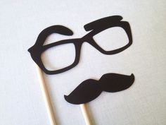 Raised Eyebrow Glasses Photo Booth Prop  Glasses by CleverMarten